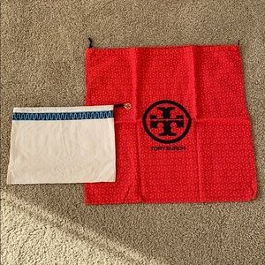 Tory Burch dust bags set of two